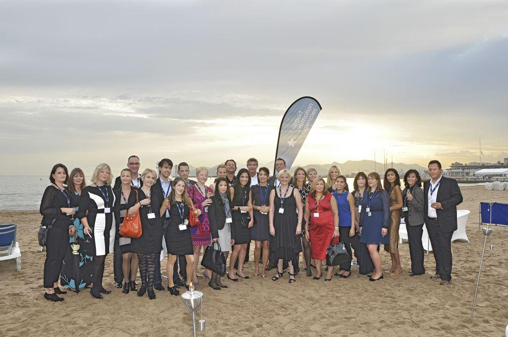 apa beach cocktail party 2012 in cannes airport promotion agencies
